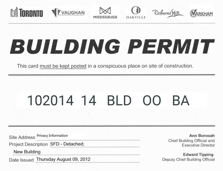 Memar Architects Do I Need Building Permit