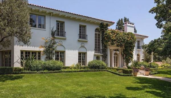 An Inside Look at Angelina Jolie's Classically Styled Mansion