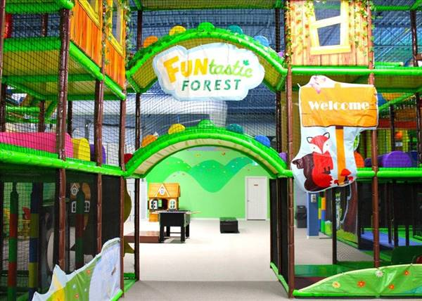 FUNtastic Forest Indoor Playground